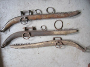 antique horse harness thingies