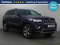 2016 JEEP GRAND CHEROKEE 3.0 CRD Overland 5dr Auto SUV 5 Seats