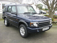 2003/53 Land Rover Discovery 2 2.5 TD5 GS Station Wagon 5dr 7 SEATS.