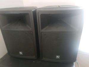 4 hauts-parleurs EV SX80