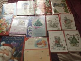 19 a 4 Cards a4 big Cards and 13 small Cards Christmas £12 the Lot Ip3 area