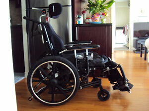 Prism Tune Fitt Back Wheelchair.  Model AMS.