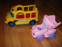 Little People School Bus and Dump Truck (Ages 13 mo+)