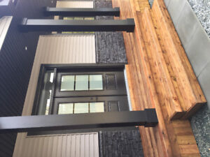 NEW CONSTRUCTION HOUSE FOR RENT/FURNISHED