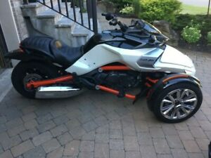 Can-am spyder F3S 2015 SM6 special serie