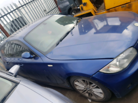Breaking spares parts bmw 1 series e87 blue 2006