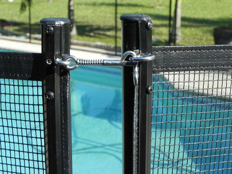Removable 15\' Pool Fence Sections (4 Ft. Tall) Only $13.33 per feet ...