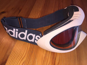 Ski goggles, tan/sandy color, Adidas, brand new