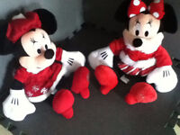 Disney's Minnie Mouse Plush (x2. Prices in ad)