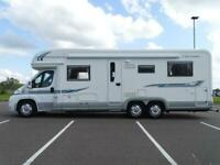 2009 FIAT DUCATO 840 D AUTOTRAIL CHEYENNE MOTORHOME 3.0 TAG AXLE ONLY 32K MILES