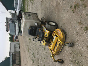 Walker mower and tailgate salter for sale