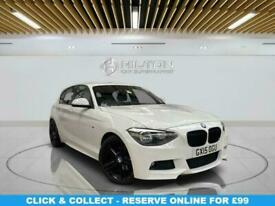 image for 2015 BMW 1 Series 2.0 125D M SPORT 5d 215 BHP Hatchback Diesel Automatic