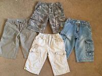 Boys shorts size 9 years. Job lot.