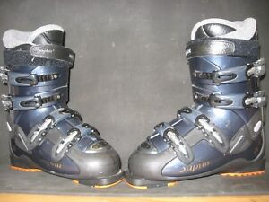 2 paires de bottes pour ski alpin (Homme et Femme)