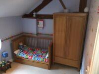 Solid Oak Nursery Furniture M&S Chloe
