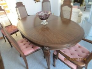 Solid Mahogany Dining Room Table&Chairs