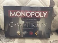 Game of Thrones Monopoly £15