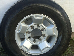 Tires on rims for sale Prince George British Columbia image 1