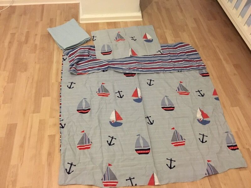 Boys sailor bedding