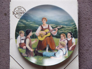 Sound of Music Limited edition Collector Plates - 8