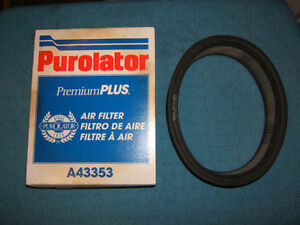 New Purolator Plus #A43353 Air Filter- Buick/Chevy/Pontiac 82-84