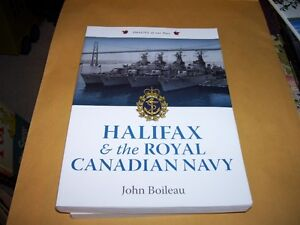 Book Halifax & the Royal Canadian Navy WWI WWII Explosion etc