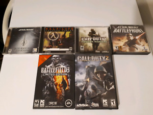 Various PC video games