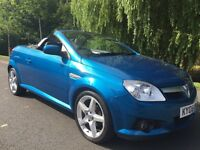 VAUXHALL TIGRA EXCLUSIVE CONVERTIBLE FULL 12 MONTHS MOT FULL LEATHER INTERIOR FIRST TO SEE WILL BUY