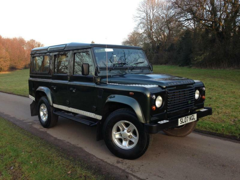 2007 Land Rover Defender 110 County Station Wagon Puma 7