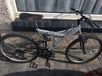 Shockwave 21 speed mountain bike only £35 ride away