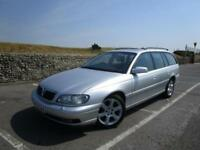 2003 Vauxhall Omega 3.2 Elite Estate petrol AUTOMATIC in silver