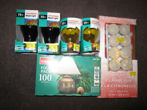 Assorted Light Bulbs - Choose LOT A1 or A2