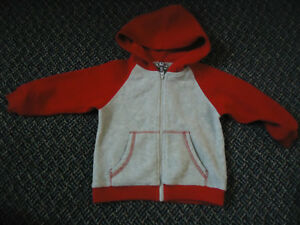 Boys Size 3 Fleece Hoodie by Sears Toddler