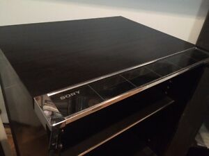 Sony Audio Cabinet with glass door/ meuble pour systeme de sons West Island Greater Montréal image 5