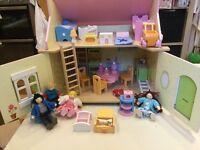 Dolls House - Le Toy Van - includes furniture & dolls. Toy, Kids, Edinburgh