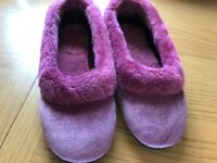 Brand New Marks & Spencer Ladies Slippers, size 6. Never been used.