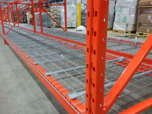 We stock wire mesh decking for pallet racking - best prices