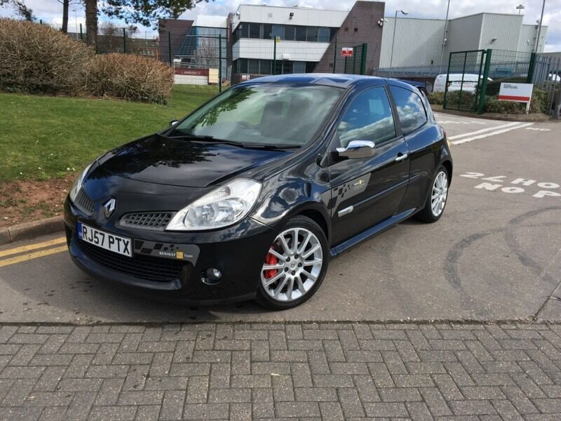 2007 renault clio sport 197 2 0 16v r27 f1 team limited edition no 310 500 in solihull west. Black Bedroom Furniture Sets. Home Design Ideas