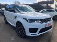 2018 Land Rover Range Rover Sport Hse White - Face Lift Model