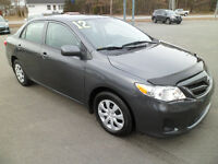 2012 Toyota Corolla Ce Sedan City of Halifax Halifax Preview