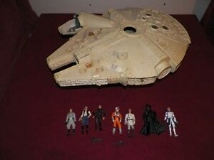 New and Old Star Wars toys