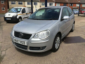 2007 Volkswagen Polo 1.2 S 58,000 MILE FULL HISTORY HPI CLEAR