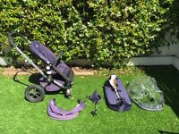 Bugaboo Frog Pram, Pushchair Complete Travel System with extras.