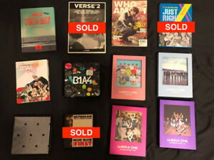 K-Pop Album Sale Blowout - B1A4, GOT7, EXO, Wanna One