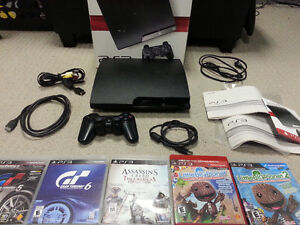 NICE CLEAN ADULT OWNED PS3 BUNDLE + OVER 80 MOVIES & MORE : )
