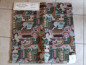 Lot of assorted printed pattern fabric squares London Ontario image 1