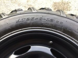 NEW ATV TIRES AND RIMS - (((( COMPLETE SET )))) Sarnia Sarnia Area image 2