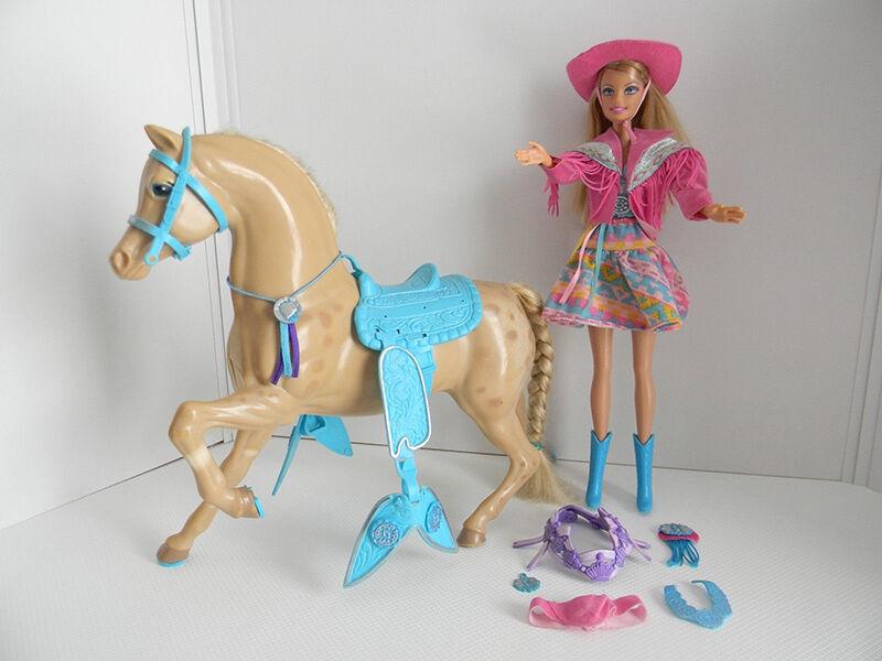 Barbie goes Western - mit Pferden und Cowboy-Ken auf der Ranch