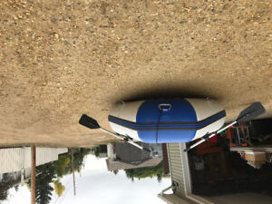 8' Salter inflatable boat