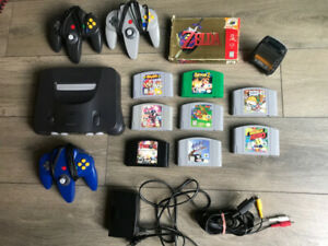 Nintendo 64 console and games for sale